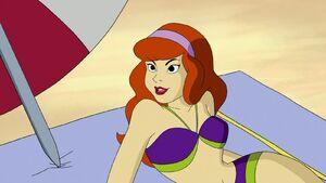 Daphne in Beach 03
