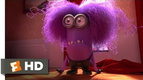 Despicable Me 2 (9 10) Movie CLIP - The Purple Minion Attacks (2013) HD