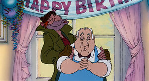 Fagin and Winston singing Happy bday to Jenny