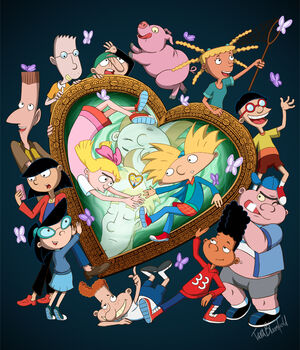 Hey Arnold The Jungle Movie Characters