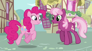 Pinkie and Cheerilee