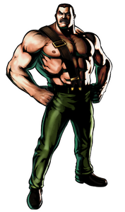 UMvC3 Mike Haggar