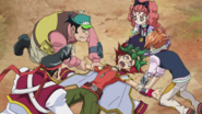 Arc V Yuya restrained