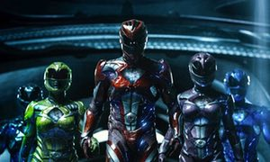 Power Rangers 2017 team