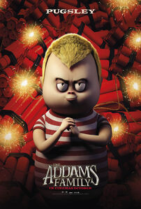 The Addams Family (2019) Pugsley Poster