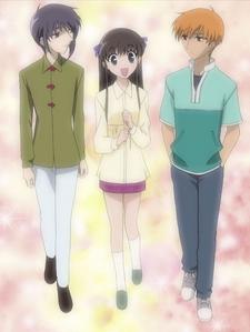 Yuki, Tohru & Kyo walk together