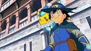Ash in Lucario of the Mystery of Mew