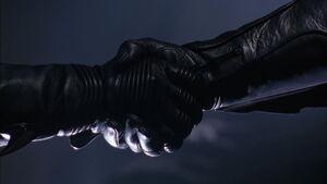 Batman Robin Handshake