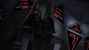 Darth Vader firing