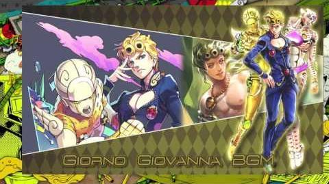JoJo's Bizarre Adventure Eyes of Heaven OST - Giorno Giovanna Battle BGM
