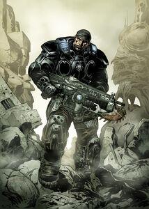 Marcus-Fenix-Comics