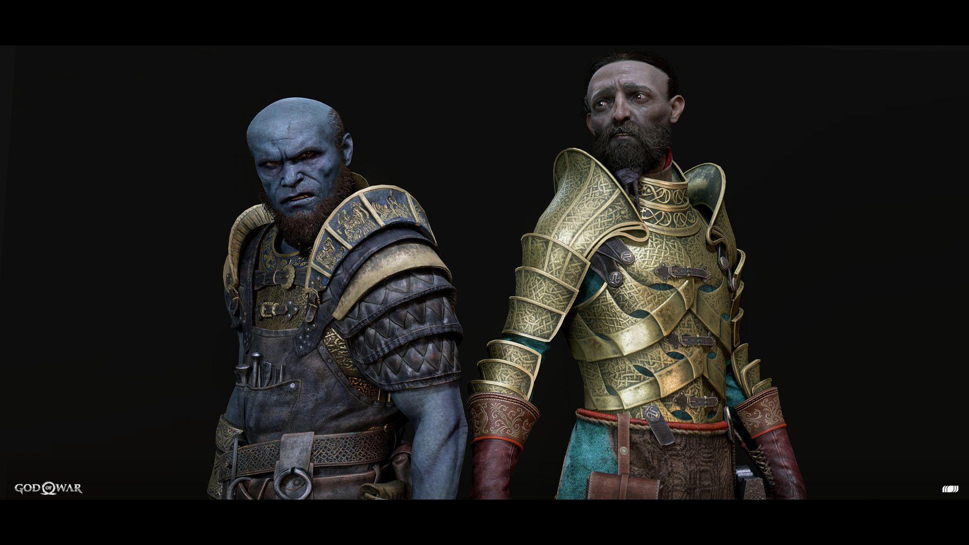 Image result for Dwarf brothers god of war