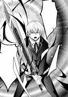 Kiba wielding the Sword of Betrayer