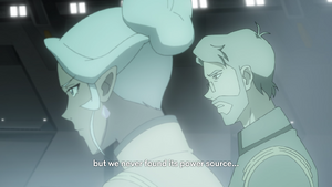 Sam speaks to Allura (Season 7 Final)