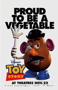 Toy Story 1 Poster 7 - Mr. Potato Head
