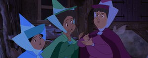 Flora Fauna and Merryweather's noble choice