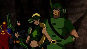 Green Arrow and Artemis