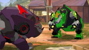 Grimlock VS Underbite