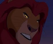 Mufasa scolding Simba