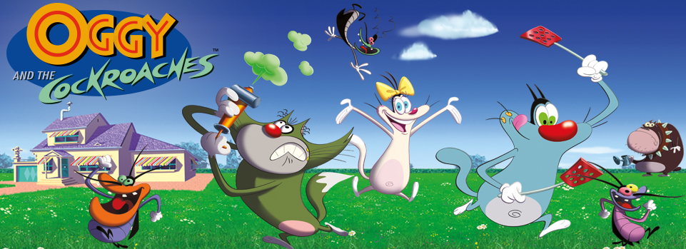 Image  Oggy and the Cockroaches Posterjpg  Heroes Wiki  FANDOM