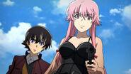 Yuno and Yukiteru