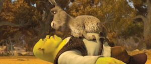 Alternate Universe Donkey with Shrek