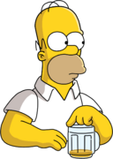Homer Simpson Drink