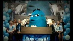 M&M's Election - Blue