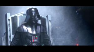 Vader wrathful
