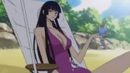 Yuuko Ichihara wearing swimsuit