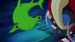 DCSG Beast Boy as Hammerhead Shark