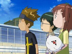 Kazu, Kenta, Jeri, and Calumon