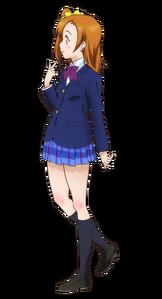 Kousaka Honoka Character Profile (Pose 2)