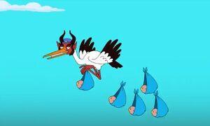 Krampus the Stork