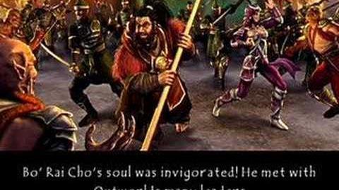 Mortal Kombat Deception Bo' Rai Cho's Ending