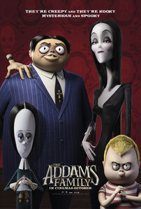 The Addams Family (2019) Family Poster