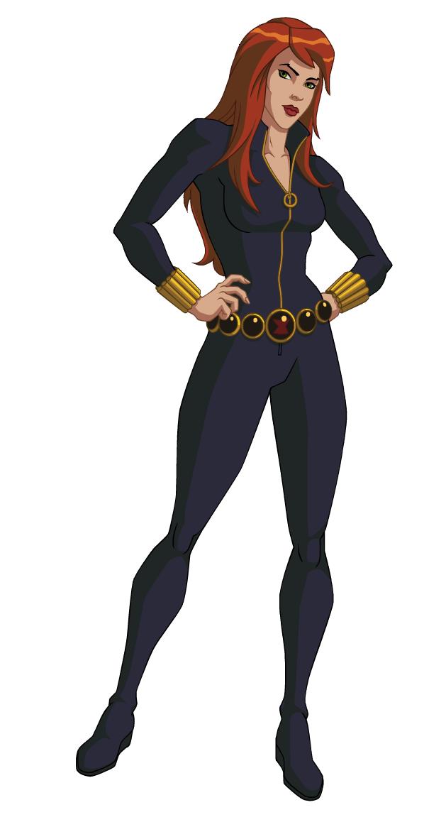 Black Widow 2010 Marvel Animated Universe Heroes Wiki