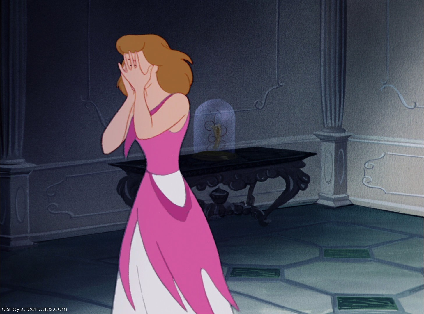 Image cinderella crying after lady tremaine and her stepsisters cinderella crying after lady tremaine and her stepsisters ruined her dressg voltagebd Gallery