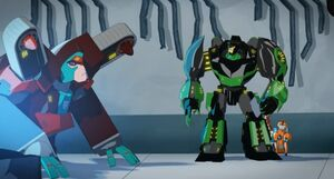 Grimlock and Fixit with Simacore
