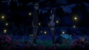 Naruto confesses to Hinata