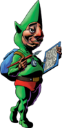 Tingle (Artwork Majora's) Mask)
