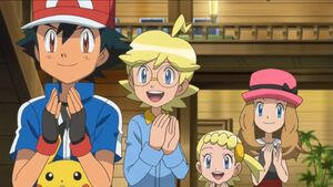Ash and Friends Clapping