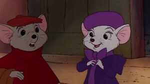 Bernard bianca the rescuers 1977