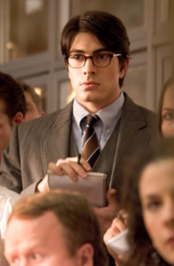 Clark at the Daily Planet