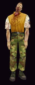Zombie Brad Model