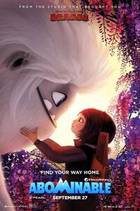 Abominable teaser poster
