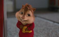 Alvin's sheepish smile