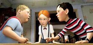 Chowder with DJ & Jenny