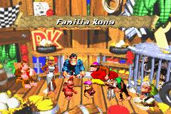 DKC 2 GBA Kong Family