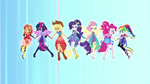 Equestria Girls in Friendship Power forms EGROF